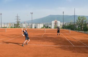 Делничен тенис турнир в Уинбет Арена!!!