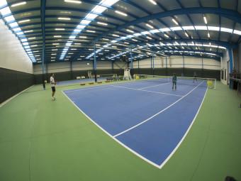 Една от най-добрите зали за тенис вече на един клик разстояние!