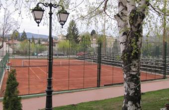 Нов тенис клуб в Банкя